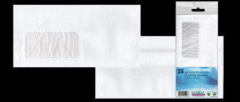 DL Banker White Envelopes