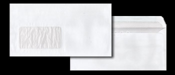 Maxi DL White Envelopes